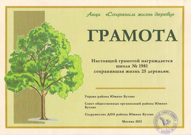 Деревья жизни конкурс